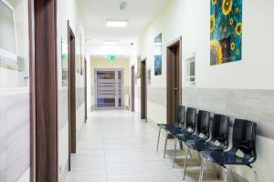 LEKARZ DOMOWY Korytarz i poczekalnia dla Pacjentów