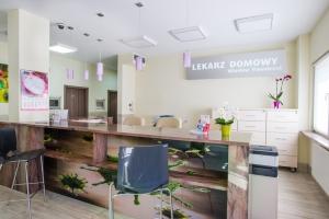 Rejestracja pacjentów u Pawełczaka